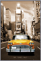 Poster New York taxi no. 1