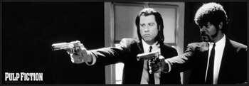 Poster Pulp Fiction - b&w guns
