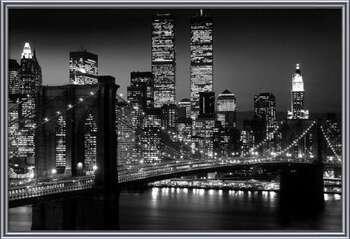 Gerahmte Poster  Manhattan - Night