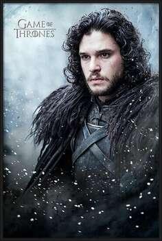 Gerahmte Poster Game of Thrones - Jon Snow