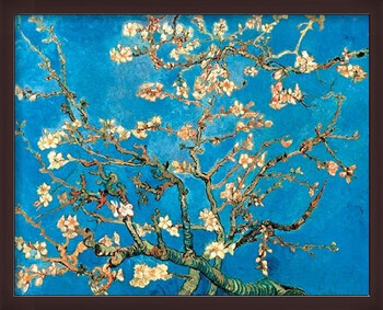 Gerahmte Poster Almond Blossom - The Blossoming Almond Tree, 1890