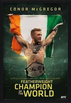 Gerahmte Poster Conor McGregor - Featherweight Champion