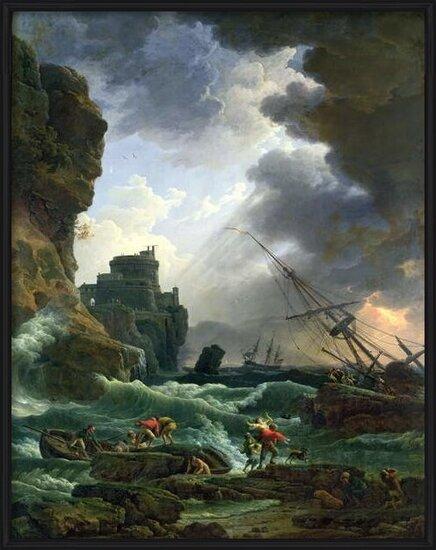 The Storm, 1777 Kunstdruck